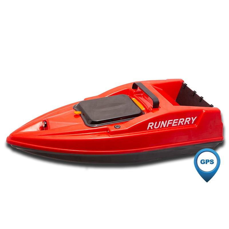 Купить карповый кораблик Runferry Solo 2 красный с GPS и автопилотом