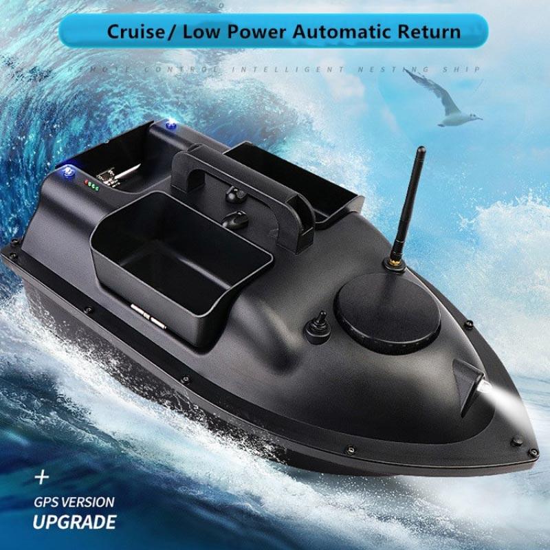 Прикормочный кораблик Охотник c GPS автопилотом фото