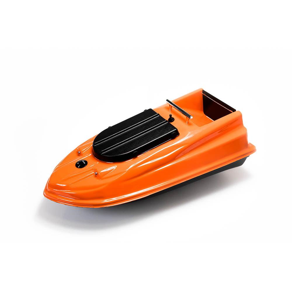 Кораблик для прикормки Тирг PRO оранжевый