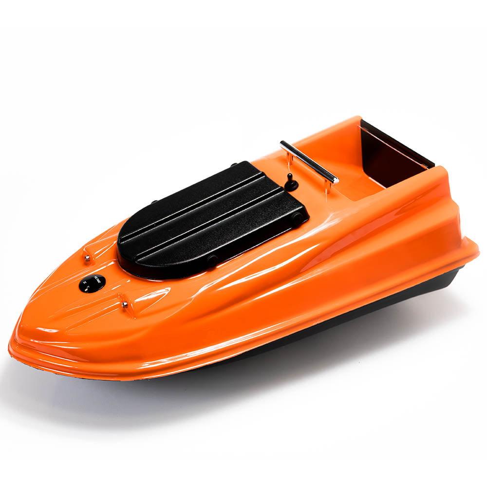 Фото кораблика для прикормки Тигр PRO оранжевый