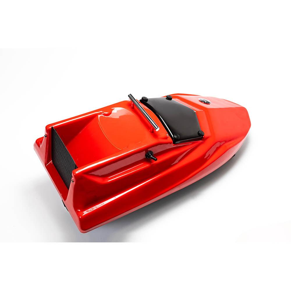 Прикормочный кораблик Тигр мини красный
