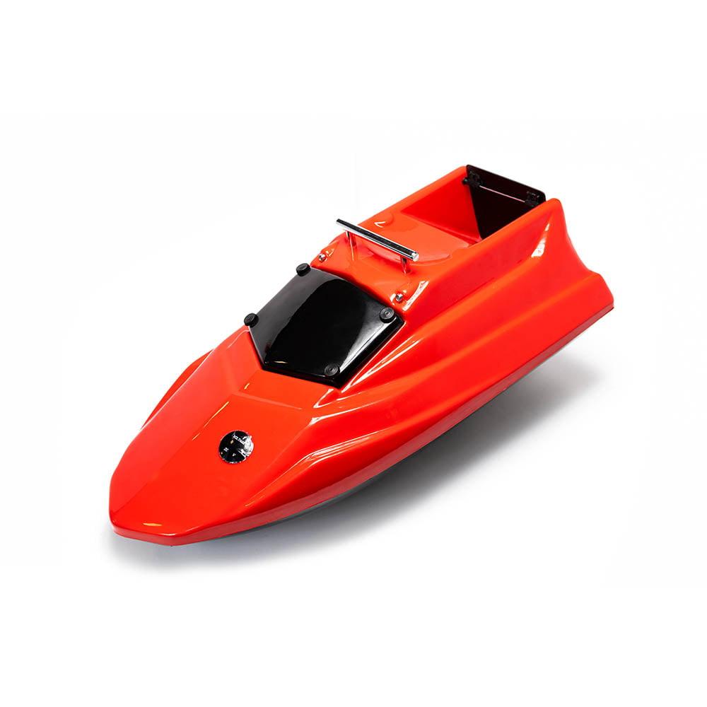 Кораблик для прикормки Тигр мини красный