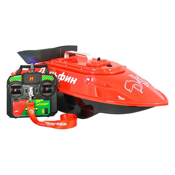 Кораблик для рыбалки Дельфин 3 с GPS-автопилотом и эхолотом Lucky 918