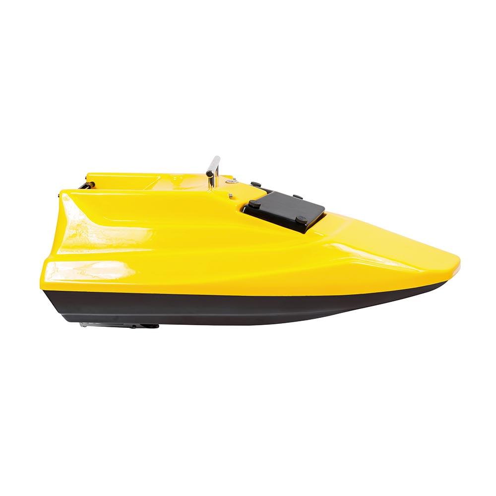 Фото кораблика для прикормки Тигр Мини - вид сбоку