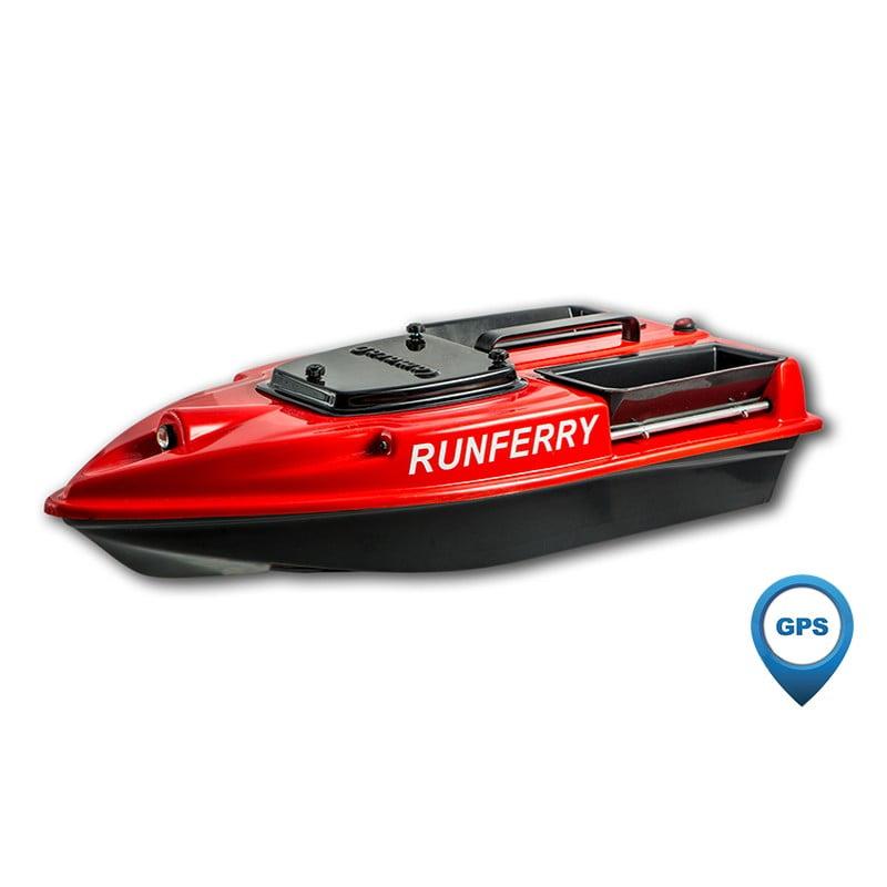 Купить прикормочный кораблик Камарад (Camarad) 3 красный с GPS-автопилотом