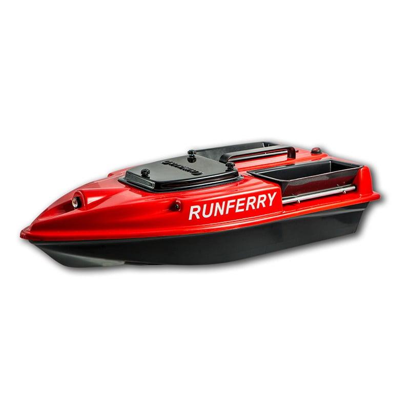 Купить прикормочный кораблик Камарад (Camarad) V3 красный
