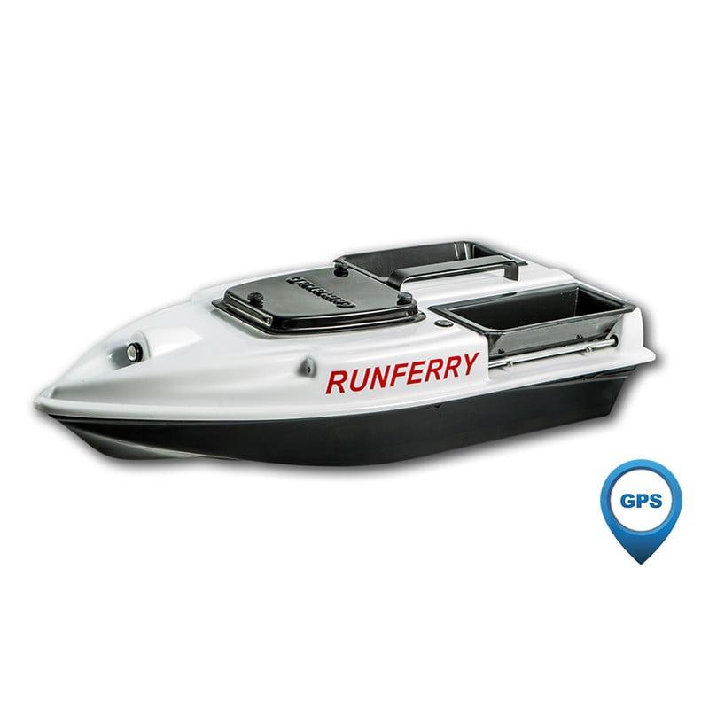 Купить прикормочный кораблик Камарад (Camarad) 3 белый с GPS-автопилотом