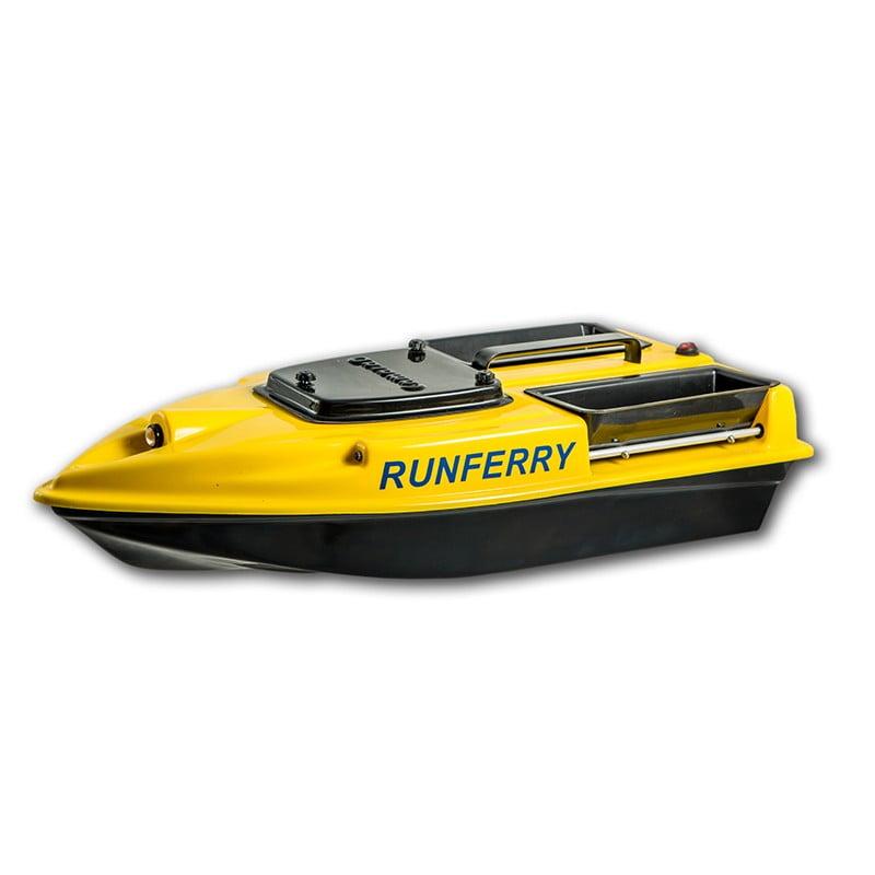 Купить прикормочный кораблик Камарад (Camarad) 3 желтый