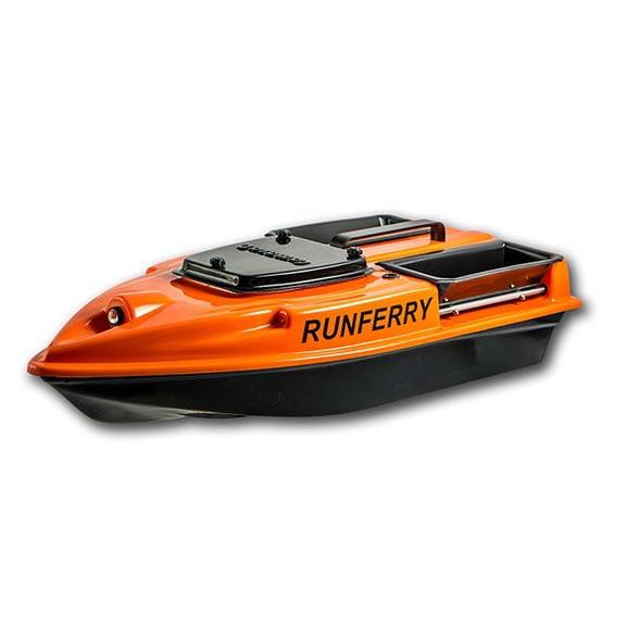 Прикормочный кораблик Камарад (Camarad) V3 оранжевый